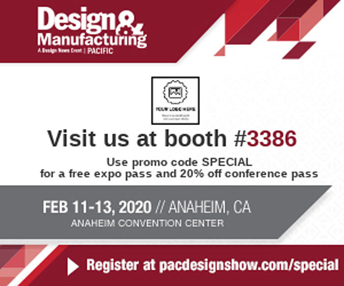 Design and Manufacturer Trade Show 2020